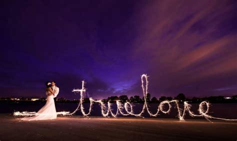 sparkler   brides  love fstoppers