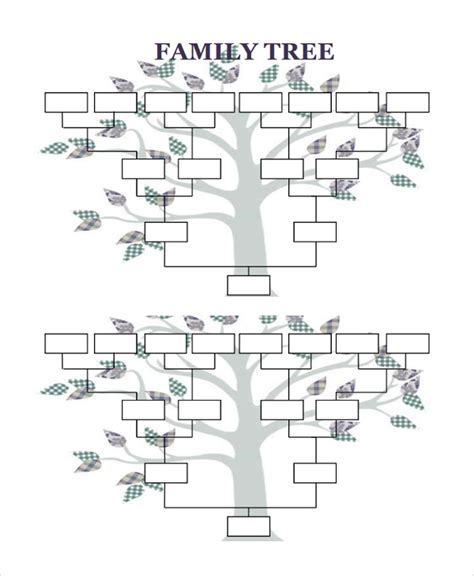 By law, the next of kin always gets the benefit of the doubt of any claim to rights. FREE 8+ Sample Blank Family Tree Templates in PDF   MS Word   Excel
