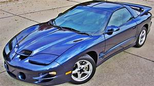 2000 Pontiac Trans Am Ws6 5 7l Ls1 T Top Navy Blue 6 Speed Gm Muscle Car Corvette Ss Z28