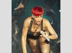 Rihanna Pussy Lip Slip Wardrobe Malfunction At Rock In Rio