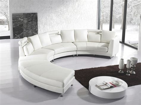 canapé cuir arrondi canape design salon accueil design et mobilier
