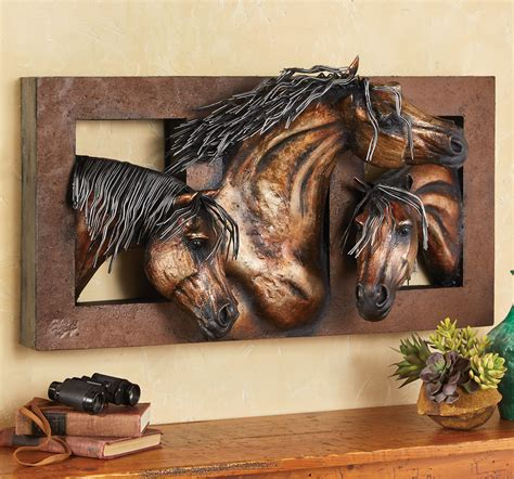 New Kitchen Gift Ideas - sweet freedom 3 d horse wall sculpture