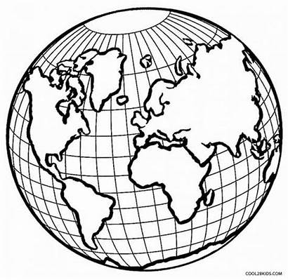 Coloring Earth Printable Pages
