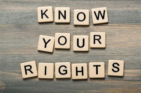 Know Your Rights - ProAdvocate Group PMA