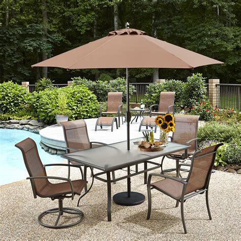essential garden harley umbrella 9ft outdoor living