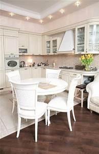 Küchentisch Rund Weiß : ein runder esstisch ist die perfekte l sung bei platzmangel ~ A.2002-acura-tl-radio.info Haus und Dekorationen