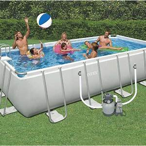 Piscine Tubulaire Intex Castorama : piscine hors sol autoportante tubulaire ultra silver intex ~ Dailycaller-alerts.com Idées de Décoration