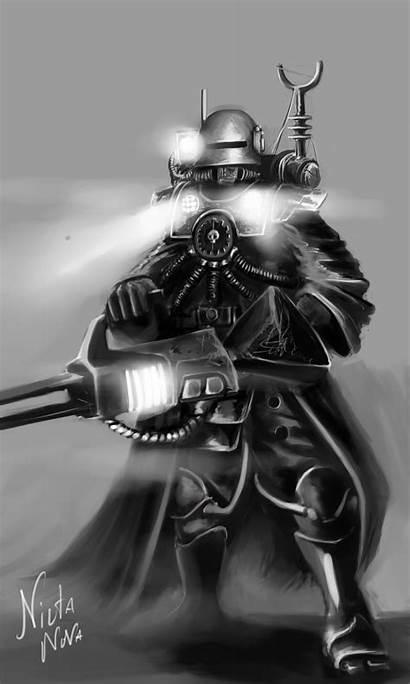 Mechanicus Adeptus Skitarii Warhammer 40k Deviantart Techpriest