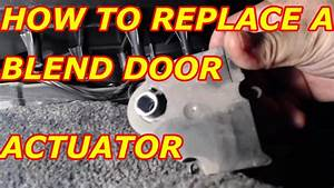 Service Manual  How To Replace Blend Door Motors In A Mercury 1996 Nissan Quest