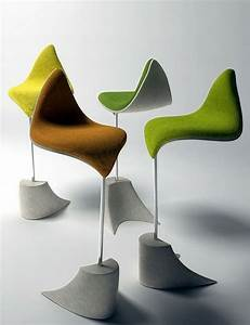 "Designer furniture – chairs standing ""The Leaf"" – inspired ..."