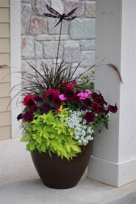 ideas from 20 planters from my neighborhood garden patio flower planters container flowers