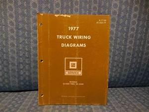 1977 Chevrolet  U0026 Gmc Truck Original Oem Wiring Diagrams 1