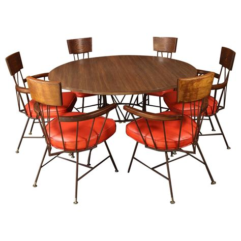 Captain Chairs For Dining Room Table by Richard Mccarthy Dining Or Table And Six Captains