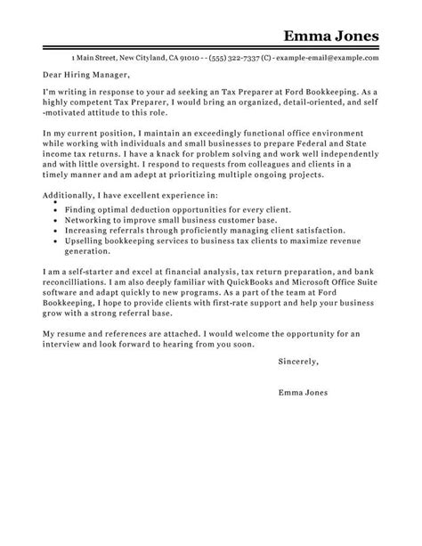 How To Write A Cover Letter For Tax Refund