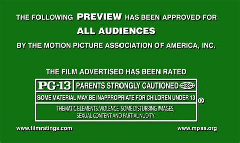 Rated PG-13 Movies
