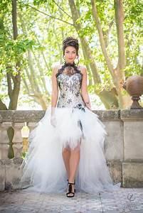 Robe De Mariée Noire : 55 desir robe de mariage robe de mari e courte robe de ~ Dallasstarsshop.com Idées de Décoration