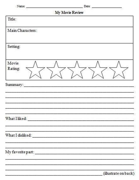 awesome  review template worksheet images ag