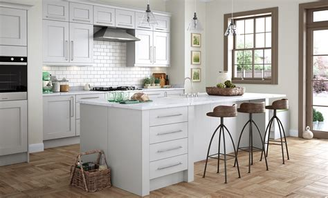 classic and contemporary kitchens wakefield contemporary light grey kitchen stori 5425