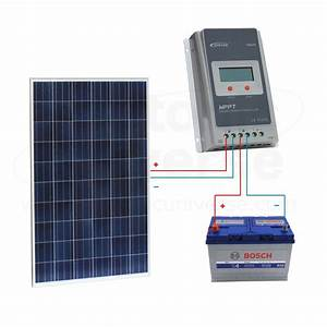 12v Solar Panels Charging Kits For Caravans  Motorhomes