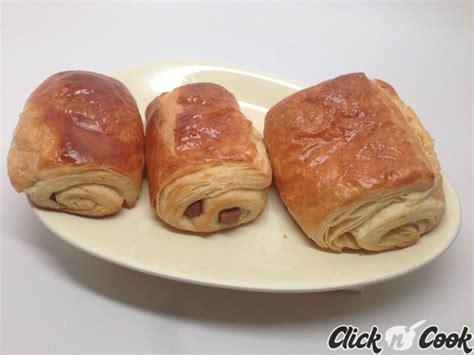recette des pains au chocolat et croissants m 233 thode escargot en vid 233 o companion moulinex