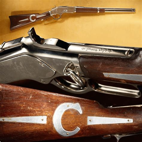 ben cartwright s winchester 1873 carbine running for 14 seasons from 1959 73 bonanza is