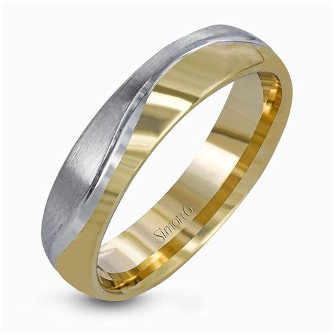 15 collection of men s two tone diamond wedding bands