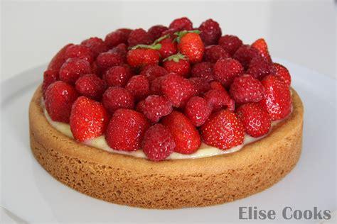 tarte aux fraises et au citron sur sabl 233 breton elise cooks