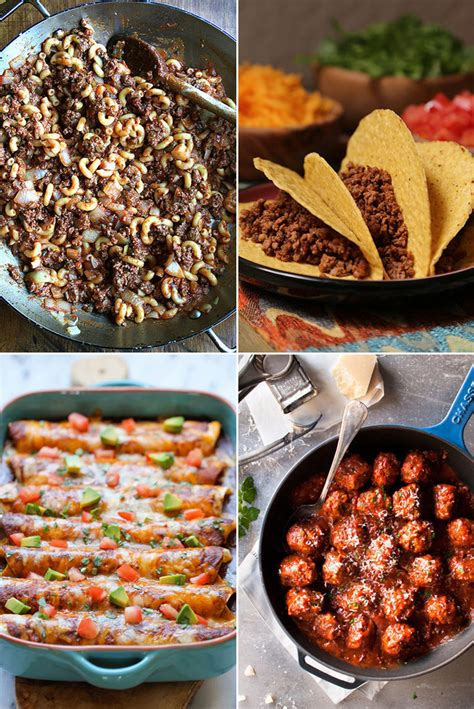 different meals to make with ground beef classic recipes using ground beef popsugar food