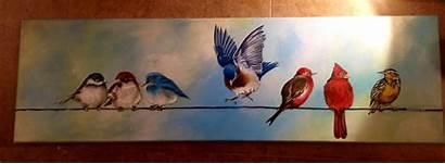 Passarinhos Marike Korting Birds Wire