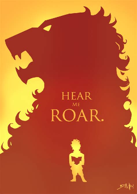 game  thrones house posters  michael  dimotta