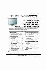 Sharp Lc32rd8e Lcd Tv Sm Service Manual Download