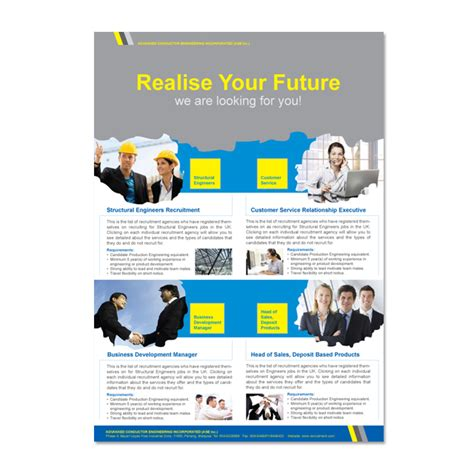 Recruiting Brochure Template by Recruitment Brochure Template Csoforum Info