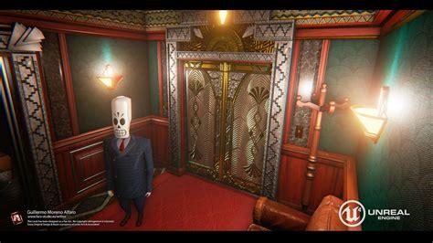 Grim Fandango Environment Recreated In Unreal Engine 4
