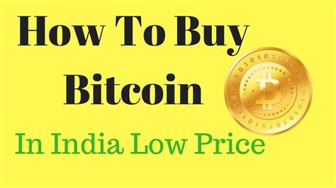 These difficulties created the common misconception that bitcoin is not legal in india. How To Buy Bitcoin In India at Low Price - YouTube