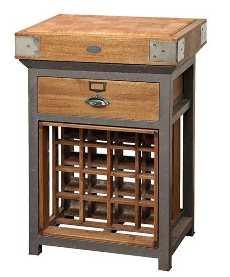 billot central de cuisine de kercoet mobilier déco meubles billots tables chaise