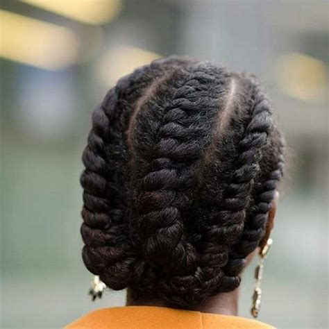 45 Catchy and Pratical Flat Twist Hairstyles   Hair Motive