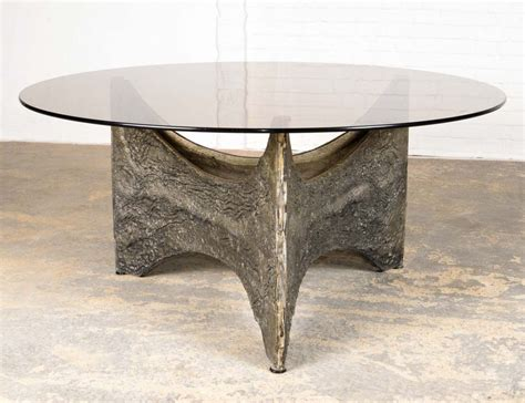 Make the coffee table yourself will give you a sense of pride. Mid-Century Brutalist Coffee Table, 1970s