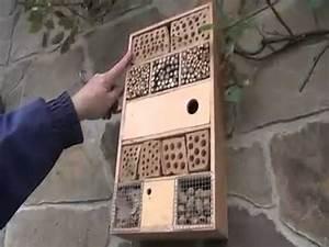 Kaminventilator Selber Bauen : insektenhotel so bauen sie ein haus f r bienen co zum berwintern youtube ~ Eleganceandgraceweddings.com Haus und Dekorationen