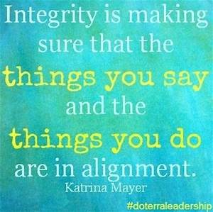 Quotes About Lack Of Integrity. QuotesGram