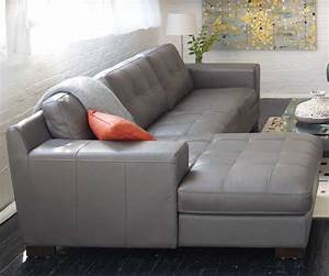 sectional sofa design grey leather sofa sectional buy With bergamo grey sectional leather sofa