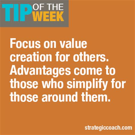 Tip Of The Week 3 Ways To Create Value For Other People