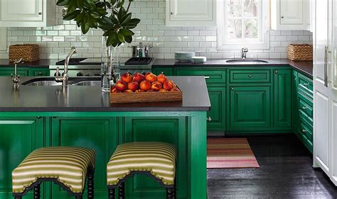 green paint colors for kitchens designers their favorite paint colors for green kitchens 6946