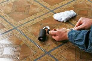 how to repair vinyl flooring a diy guide to fixing kitchen floor tiles diy earth