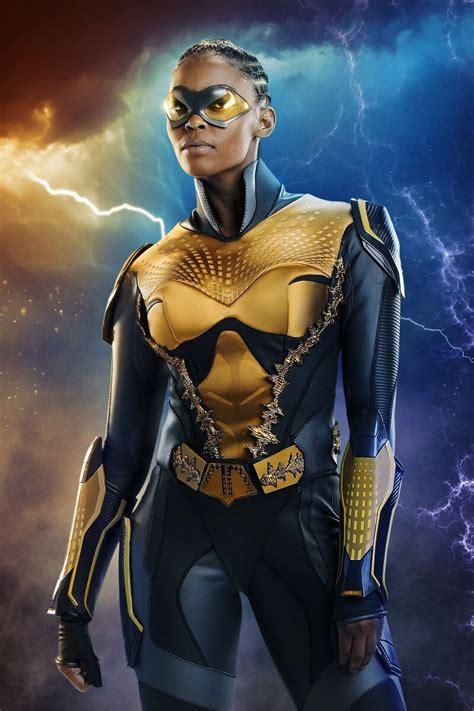 'Black Lightning' Just Introduced TV's First Black, Female ...