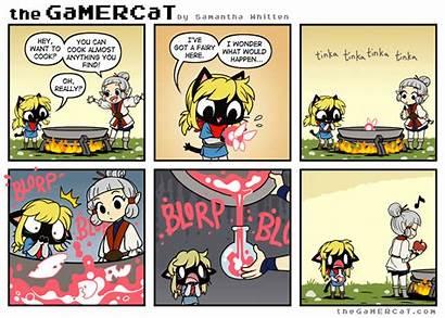 Gamercat Zelda Cat Gamer Order Legend Comic