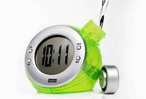 Green Gifts Under $50 BEDOL WATER POWERED ALARM CLOCK