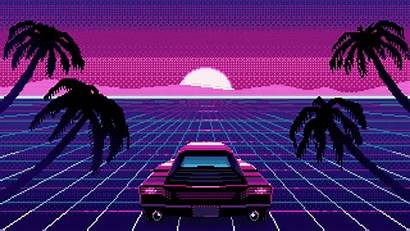 4k Vibes Outrun Retrowave