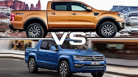 ford ranger   volkswagen amarok youtube