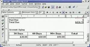 Open Office Summe Berechnen : libreoffice und linux hilfe und tutorials rechnen in openoffice org textdokumente ~ Themetempest.com Abrechnung