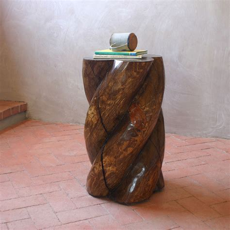 hand carved end tables hand carved side table contemporary side tables end